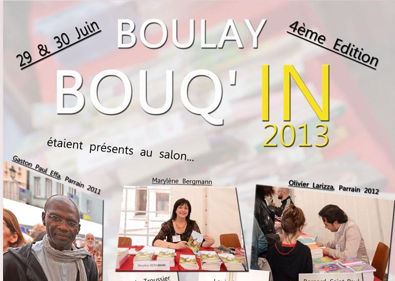 Salon du livre du 29 et 30 juin près de Metz