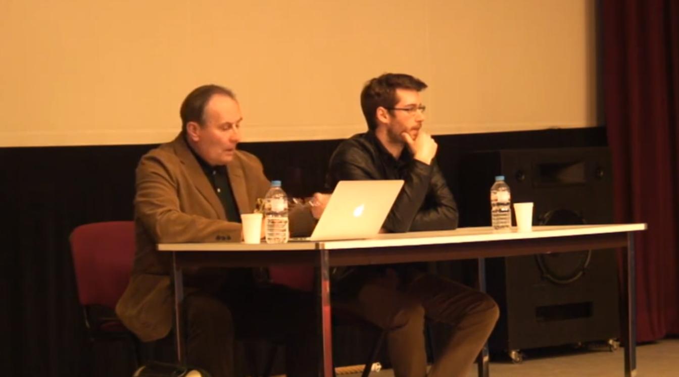 Conférence Sylvain Durain et Jean-Michel Vernochet