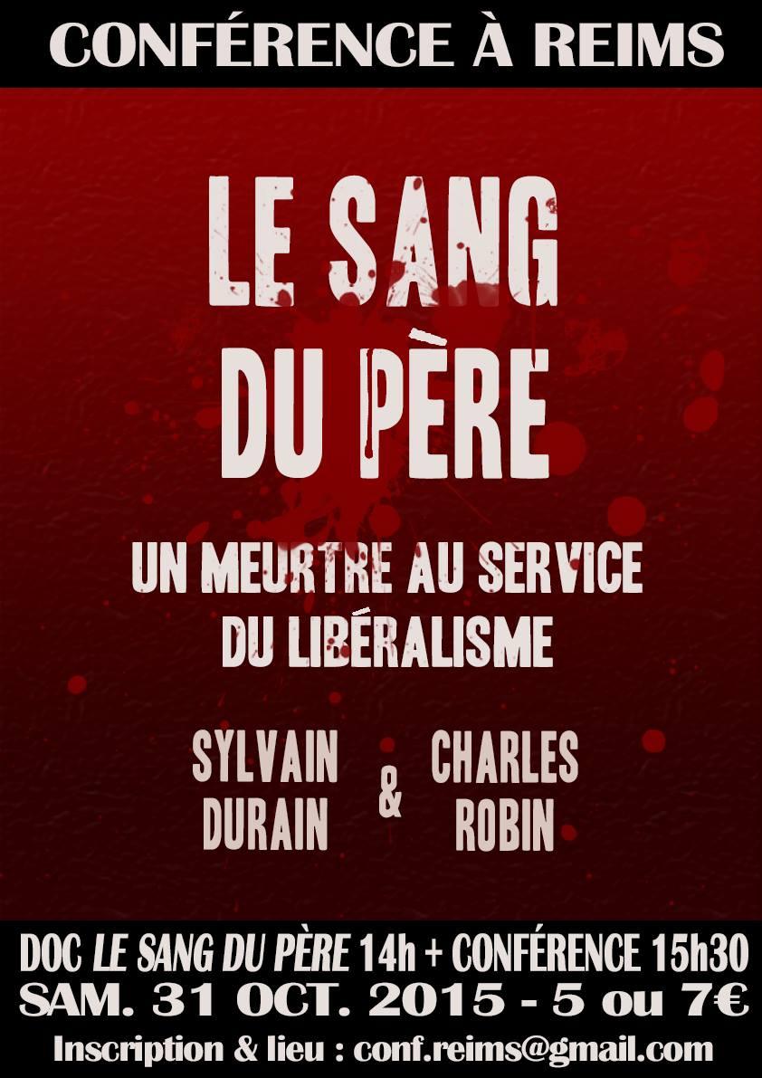 Sylvain Durain en conférence à Reims