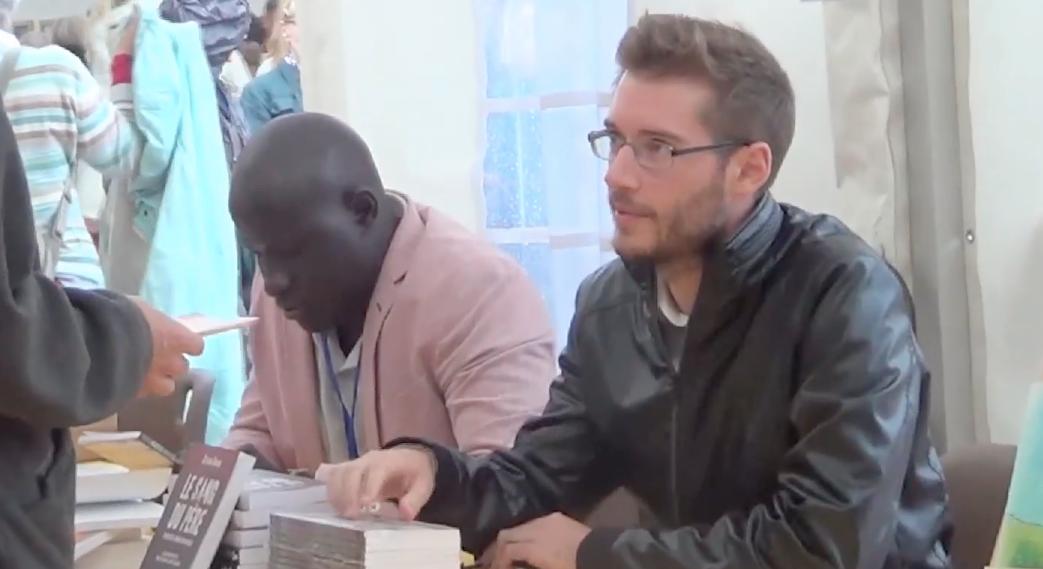 Sylvain Durain et Pierre Jovanovic au Livre sur la Place 2015