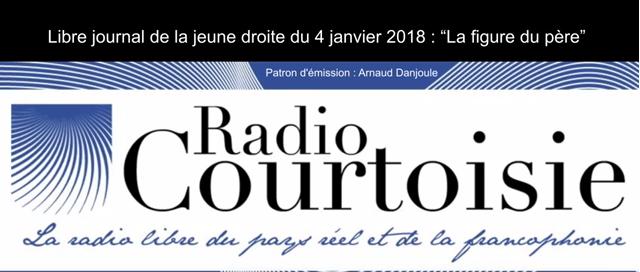 Sylvain Durain sur Radio Courtoisie : «Le Père français et catholique : l'homme à abattre»
