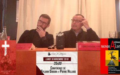 Sylvain Durain et Pierre Hillard «Le patriarcat contre le mondialisme»