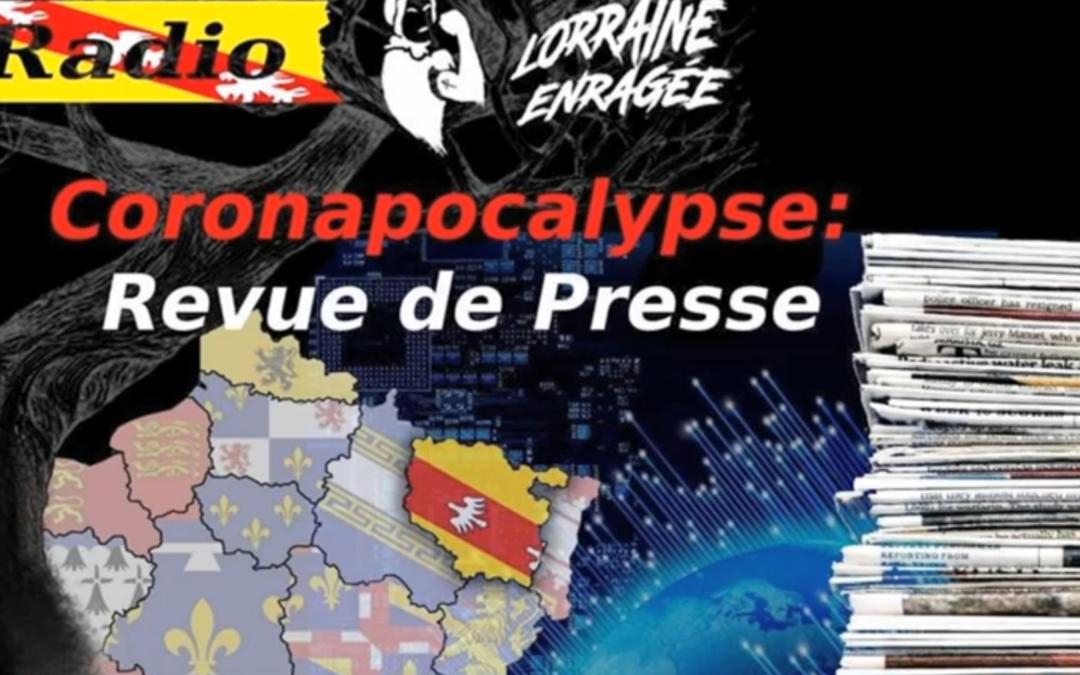 Coronapocalypse : revue de presse#1