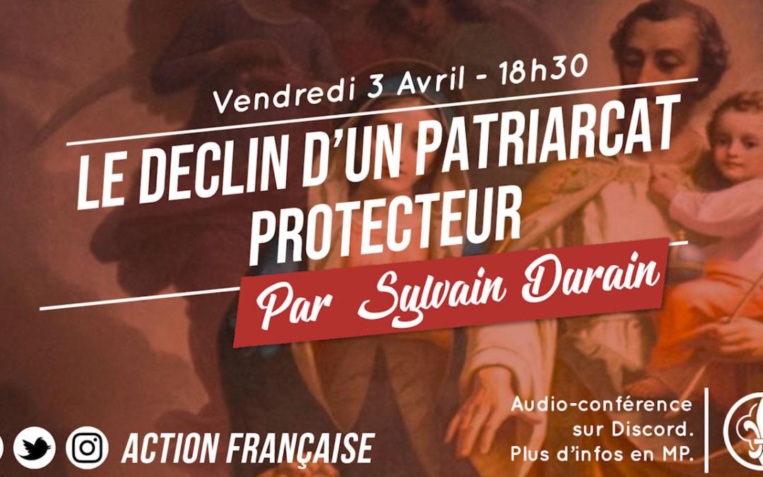 Conférence de Sylvain Durain pour l'Action Française