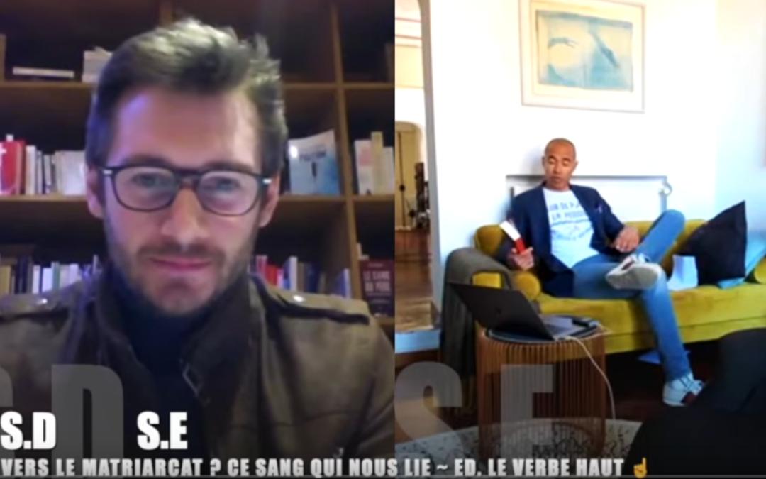 Stéphane Édouard reçoit Sylvain Durain