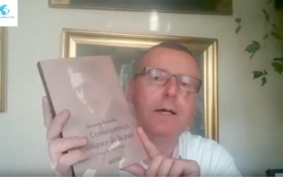 Pierre Hillard sur notre réédition du livre de Jacques Bainville