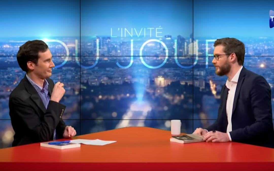 Sylvain Durain sur TVL «Le patriarcat, rempart au Mondialisme»