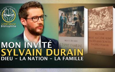 «Dieu, la Patrie, la Famille Sylvain» Durain chez «Des paluches et des bouquins»