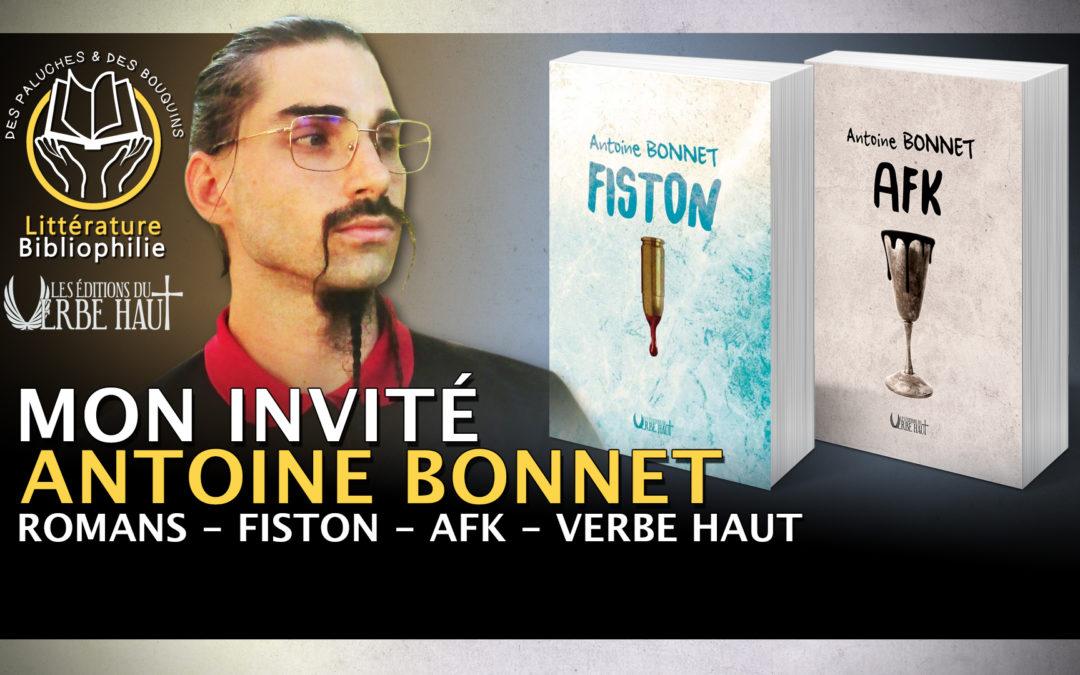 Antoine Bonnet chez «Des Paluches et des Bouquins»