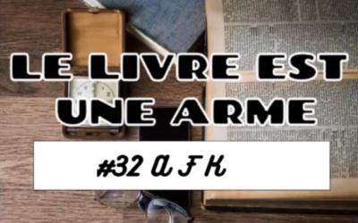 Critique du livre d'Antoine Bonnet «AFK», par le Livre est une arme.